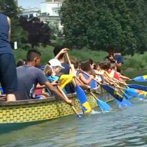 A bordo del Dragon Boat con il Summer Camp 2018