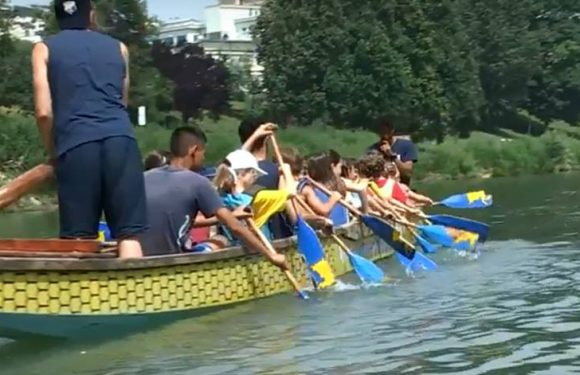 A bordo del Dragon Boat con il Summer Camp 2018
