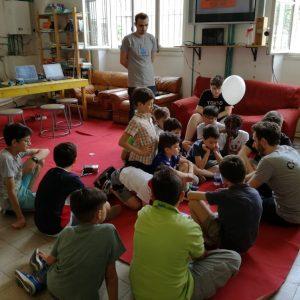 bambini in aula