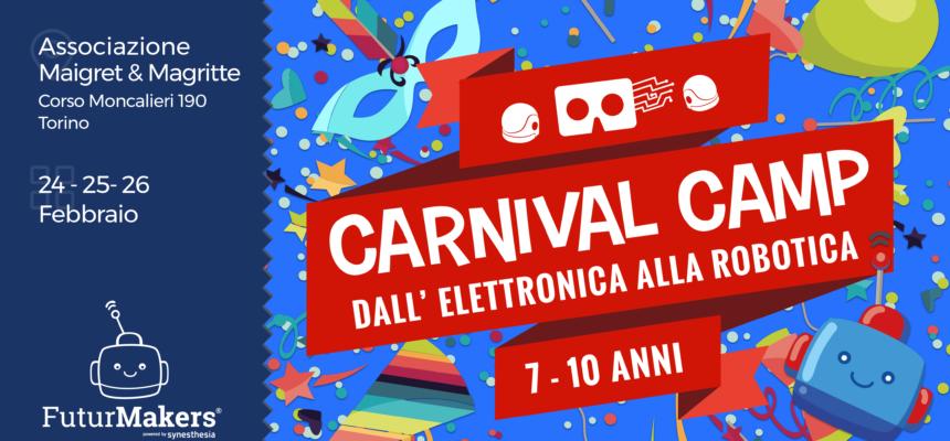 Carnival Camp 2020 - 7-10 anni