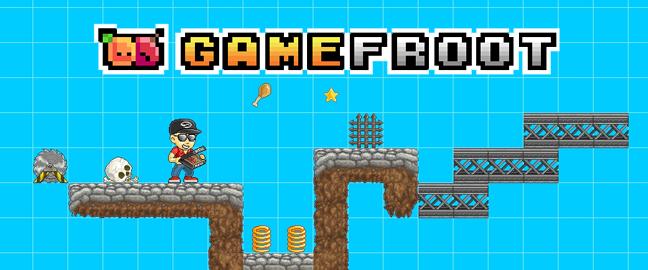 Gamefroot - piattaforma per creare giochi