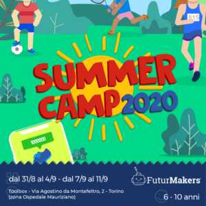 Summer Camp Settembre Futurmakers